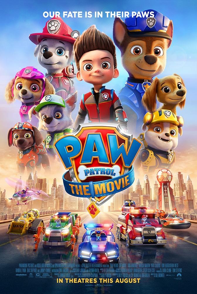 Affiche film PAW PATROL - LE FILM - LA PAT PATROUILLE